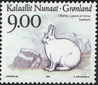 Groenland - 1994. Faune de l´arctique - 9,00 kr. -  Multicolore