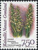 Groenland - 1996. Orchidées - 7,50 kr. - Multicolore