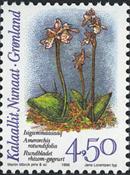 Grønland - 1996. Arktiske orkideer - 4,50 kr. - Flerfarvet