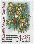 Groenland - 1996. Orchidées - 4,25 kr. - Multicolore