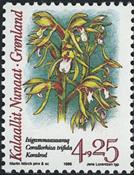 Grønland - 1996. Arktiske orkideer - 4,25 kr. - Flerfarvet