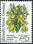 Greenland - 1995. Arctic Orchids Series Part I - 7,25 kr - Multicoloured