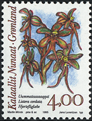 Grønland - 1995. Arktiske orkideer - 4,00 kr. - Flerfarvet