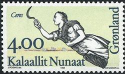 Groenland - 1994. Figures de proues I - 4,00 kr. -  Multicolore