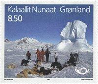 Groenland - 1991. Norden - 8,50 kr. - Multicolore