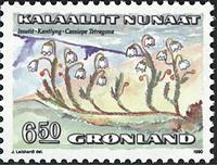 Grønland - 1990. Blomster II - 6,50 kr. - Flerfarvet