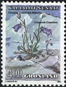 Groenland- 1990. Fleurs II - 4,00 kr. - Multicolore