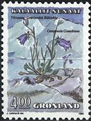 Grønland - 1990. Blomster II - 4,00 kr. - Flerfarvet