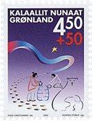 Groenland - 2002. Paarisa - 4,50+0,50 kr. - Multicolore
