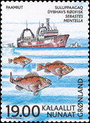 Grønland - 2002. ICES 100 år - 19,00 kr. - Flerfarvet