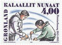 Groenland- Sesquicentenaire de l´Ecole Normale du Groenland à Nuuk -4,00 kr