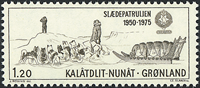 Groenland - 1975. Sirius - 1,20 kr - Sépia