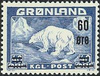 Groenland - Ours polaire - 60 øre / 40 øre - Bleu (27)