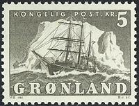 Greenland - The Polar Ship of Gustav Holm - 5 kr. - Grey