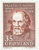 Groenland - 1964. Samuel Petrus Kleinschmidt - Brun-rouge