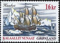 Grønland - 2002. Skibsfrimærker I - 16 kr. - Flerfarvet
