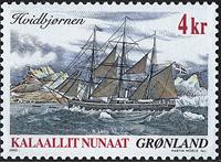 Grønland - 2002. Skibsfrimærker I - 4 kr. - Flerfarvet