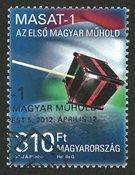 Ungarn - Satellit - Stemplet frimærke