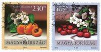 Hongrie - Fruits - Série obl. 2v