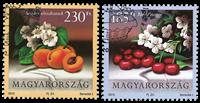 Ungarn - Frugter - Stemplet sæt 2v