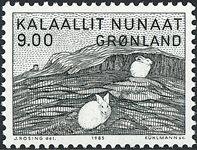 Groenland - 1985. Gerhard Kleist - 9,00 kr. - Gris-vert