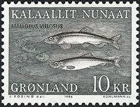 Groenland - 1986. Poissons - 10 kr. - Multicolore