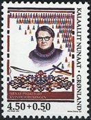 Groenland - La fondation de l´Association des Femmes - 4,50 + 0,50 kr