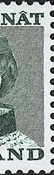 Greenland - Queen Margrethe II - 10 øre - Blurred printing