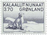 Groenland - Karale Andreasen - 3,70 kr. - Bleu-gris