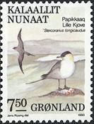 Grønland - 1990. Fugle IV - 7,50 kr. - Flerfarvet