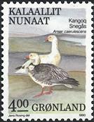 Grønland - 1990. Fugle IV - 4,00 kr. - Flerfarvet