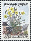 Grønland - 1989. Blomster I - 10,00 kr. - Flerfarvet