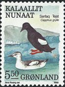 Grønland - 1989. Fugle III - 5,50 kr. - Flerfarvet
