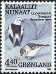 Grønland - 1989. Fugle III - 4,40 kr. - Flerfarvet