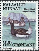 Groenland - 1989. Oiseaux III - 3,20 kr. - Multicolore