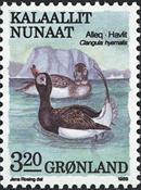 Grønland - 1989. Fugle III - 3,20 kr. - Flerfarvet