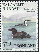 Grønland - 1987. Fugle II - 7,00 kr. - Flerfarvet