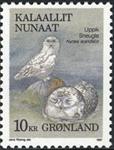 Grønland - 1987. Fugle I - 10 kr. - Flerfarvet