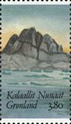 Grønland - 1987. Frimærkeudstillingen Hafnia 87. -  3,80 kr. - Flerfarvet
