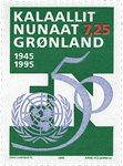 Groenland - 1995. Cinquantenaire des Nations Unies  - 7,25 kr. - Multicolore