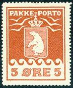 Grønland pakkeporto AFA 2 ubrugt