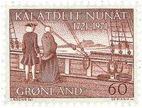 Groenland - 250ème anniversaire de l´arrivée d´Hans Egede au Groenland