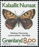 Groenland - 1997. Papillons du Groenland - 8,00 kr. - Multicolore
