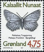 Groenland - 1997. Papillons du Groenland - 4,75 kr. - Multicolore