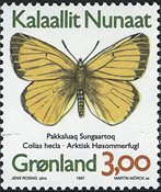 Groenland - 1997. Papillons du Groenland - 3,00 kr. - Multicolore