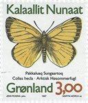 Groenland - 1997. Papillons du Groenland - 3,00 kr. - Multicolore