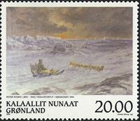 Grønland - 1999. Grønlandske kunstnere - 20,00 kr.  - Flerfarvet