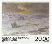 Groenland - 1999. Hommage au peintre Peter Rosing - 20,00 kr.