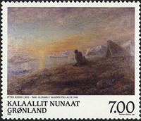 Groenland - 1999. Hommage au peintre Peter Rosing - 7,00 kr.