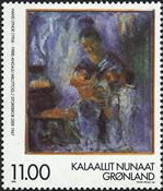Groenland - 1998. Hommage au peintre Hans Lynge - 11,00 kr. - Multicolore